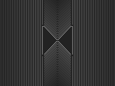"Logitech ""MX Master Series"" Rebound pattern vector logo branding illustration black white clear figma design concept minimal"