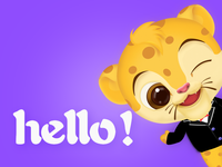Hello,今天你好吗?