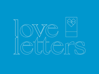 Love Letters titlecard character design vector adobe vector art personal experimental illustration animated gif design graphic design