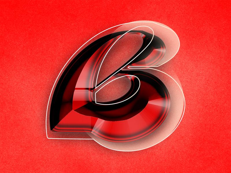 Killer B's vector art vector personal type exploration letter b 36daysoftype type design type experimental typography illustration design graphic design