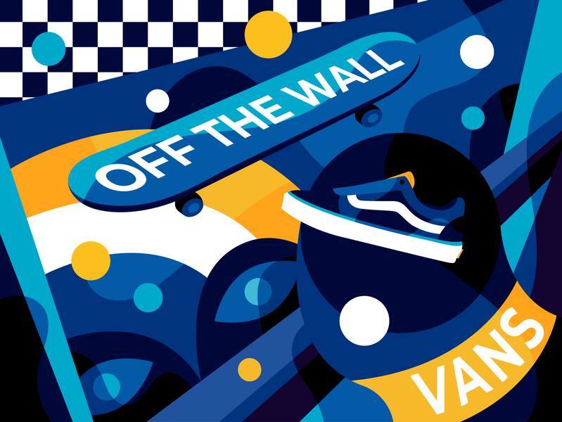 Vans Off the Wall vans illustration