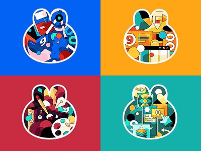 Me and design ui web design illustration