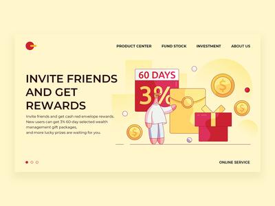 Invite friends to get rewards