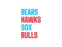 ✶✶✶✶ chicago blackhawks chicago white sox chicago bulls chicago bears chicago