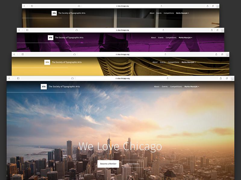 NEW STA Website marketing organization design community sta