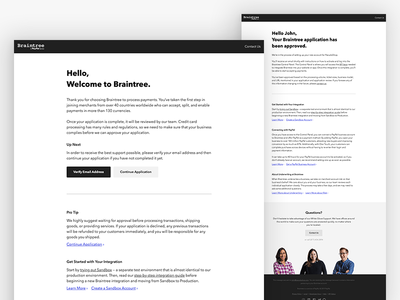Redesigned Email Templates modern email design fintech paypal email design
