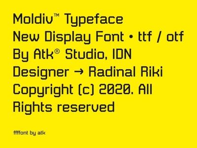 Moldiv™ Typeface