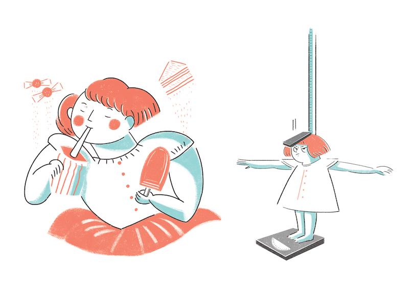 Sugar Addiction taiwan photoshop illustrator illustration illo design character book direction art