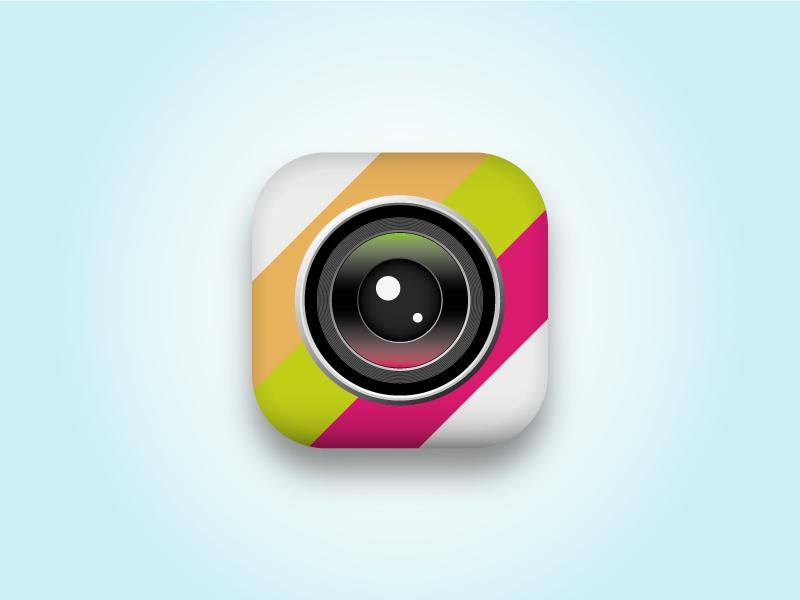 Camera Icon Remake icon old camera ios iphone app photo