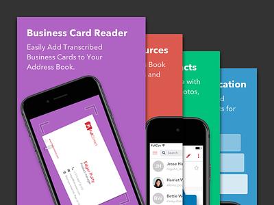 App Store Screenshots contacts address book app store screenshots