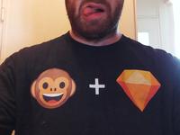 Sketch Monkey Shirt