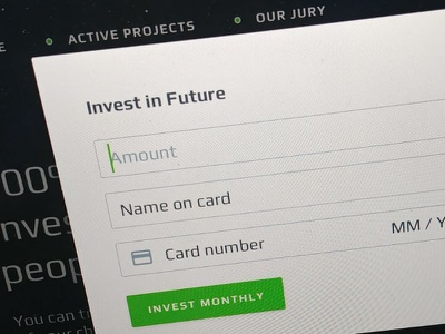 Invest Form space mars desktop form invest payments