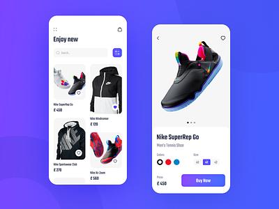 E Commerce App ux ui app apps design mobile app mobile application mobile design mobile ui ux top ux ui designer