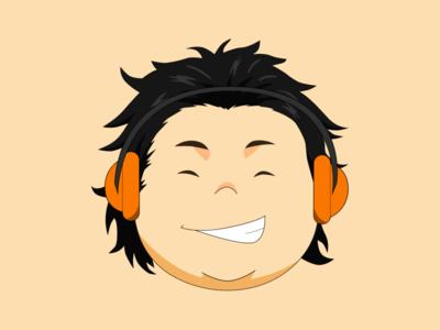 Smiley anime cute concept color design