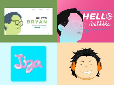 2018 me web illustration design