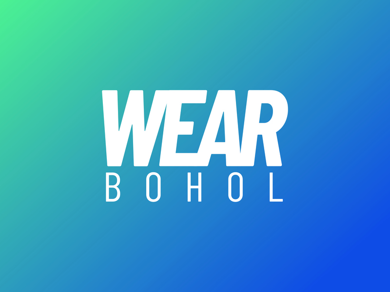 Wear Bohol branding logo creative concept color design
