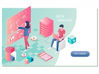 Data Analysis FInance Success Concept