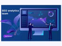 SEO analytics team