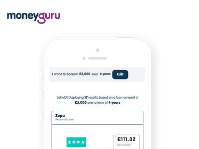 MoneyGuru.com case study casestudy ui ux product design