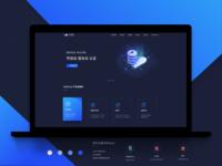 web design( dark mode)