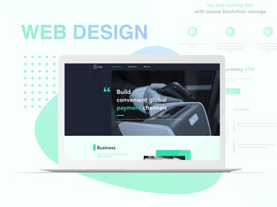 Digital Currency Product Web Design