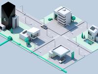 WebGL City (WIP)