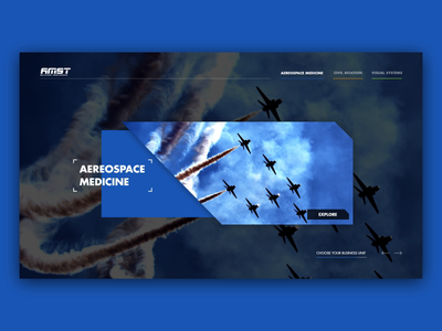 Aviation and aerospace medical equipment - Splash page