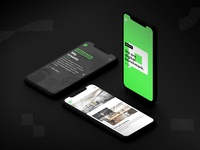 Responsive iPhone X Screens - pixelart