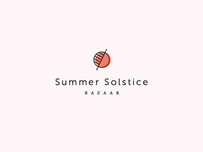 Summer Solstice Bazaar Logo