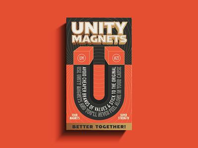 U is for Unity ephemera vintage package packaging vector logo design illustration type logotype branding badge typography