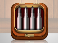 Bullets iphone icon - bang bang pop