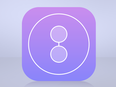 #Eight number minimalist math maths mathematics eight 8 simple clean app icon design