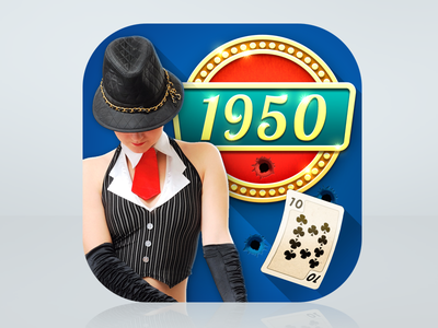 A bit of 50's nostalgia 1950s gangster gold mob mobsters vegas retro americana poker holdem texas 50s
