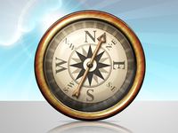 Acheivement Icon Compass