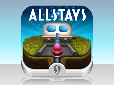Allstays Rv Dump And Waste rv caravan grass iphone icon mobile allstays waste disposal