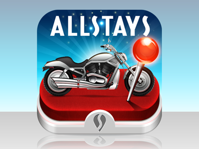 Allstays - Harley Davidson Dealers motorbike harley davidson map pin allstays iphone icon