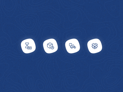 icon set order status dribbble web design ux ui clean illustration bhinneka.com design icon design icon set