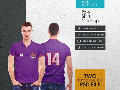 Download Free Men Collar T Shirt Mock Up Template template polo photoshop psd mockup tshirt collar men free