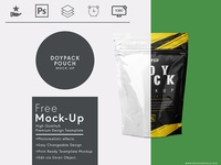 Doy Pack Pouch Free Mock Up