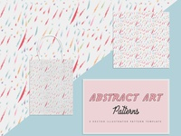 Abstract Free Pattern Art Template