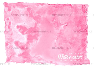 Free Light Pink Water Color Vector Texture Background