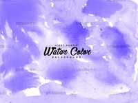 Light Purple Water Color Free Vector Background
