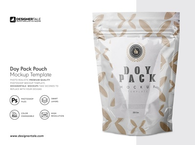 Doy pack pouch mock up