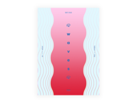 Day 87 👉 Waving waves