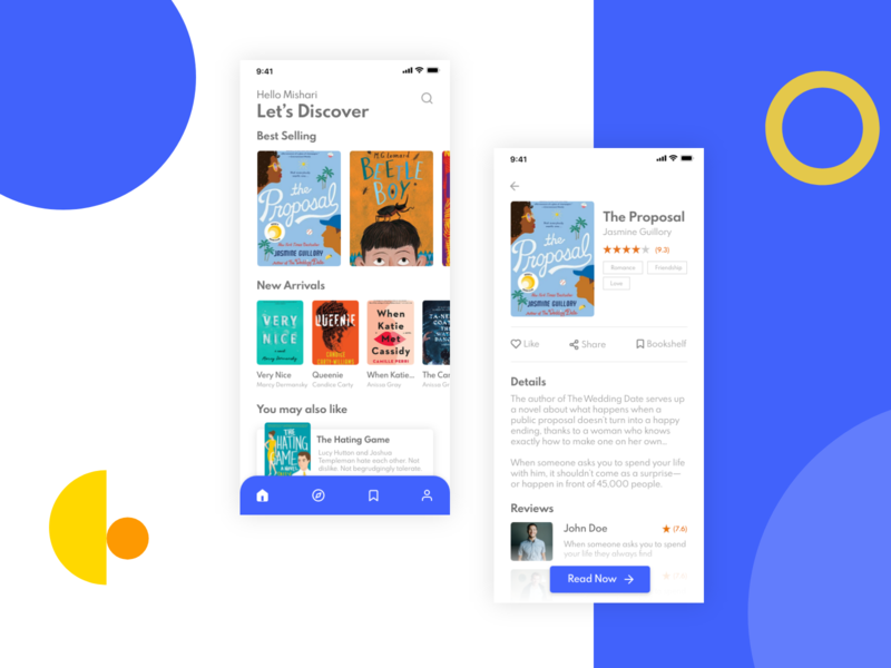Book reading app mobile app mobile app design mobile ui book reading book reading app