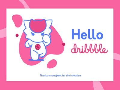 Welcome to Dribble