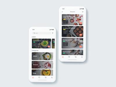 Food recipe app mobile app ui mobile app mobile app design food app food recipe app recipe app