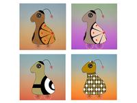 Toothie Quartet | Print-Ready Design
