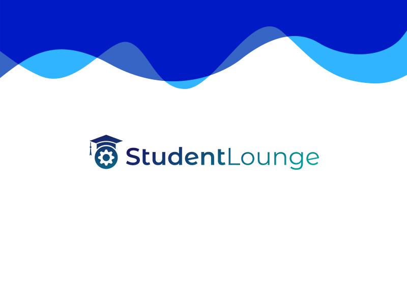 Student Lounge Logo logo design blend blending poster art illustracion art shot colorful brand-identity photoshop logo flat branding vector illustration dribbbble graphic art graphic design