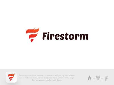 Firestorm Logo Design